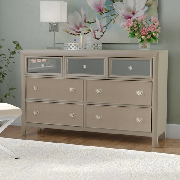 Gottfried 7 Drawer Standard Dresser by Willa Arlo Interiors