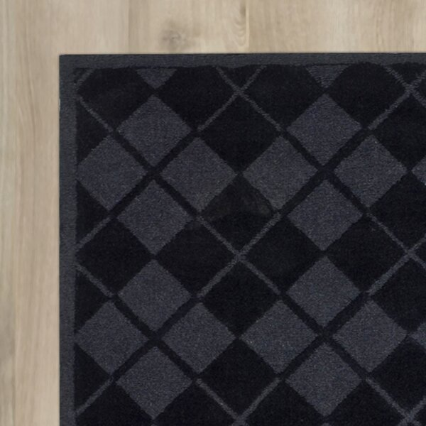 Argyle Hand-Loomed Wrought Iron Area Rug by Martha Stewart Rugs