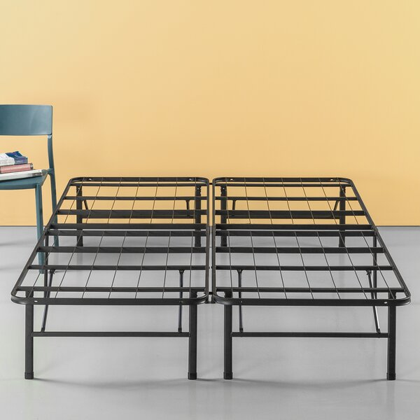 Valenzuela Classic Smart Base Bed Frame by Symple Stuff
