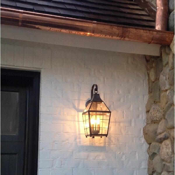 Parker 2-Light Outdoor Wall Lantern by Canora Grey