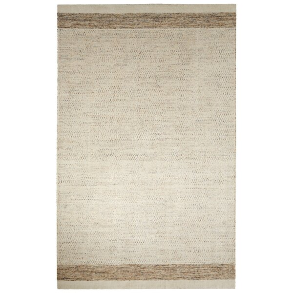Volmer Hand-Loomed Ivory/Beige Area Rug by Latitude Run