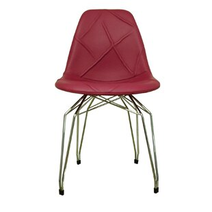 Diamond Genuine Leather Upholstered Dining Chair