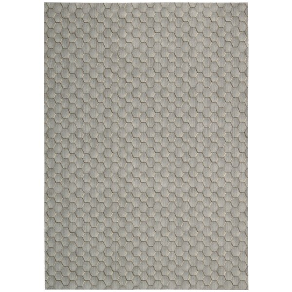 Wool Pasture Smoke Area Rug