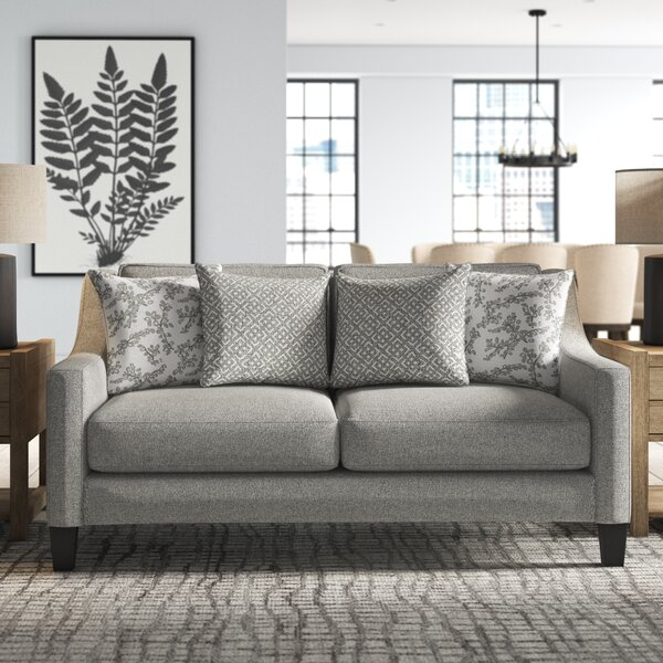 Review Canby Stain Resistant Loveseat