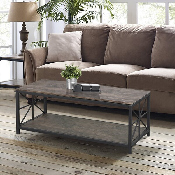 Millikan Solid Coffee Table by Gracie Oaks Gracie Oaks