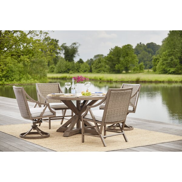 5 Piece Dining Set with Cushions by Dowton Abbey