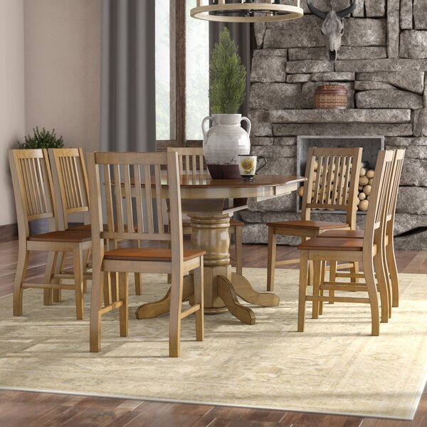Huerfano Valley 7 Piece Dining Set by Loon Peak