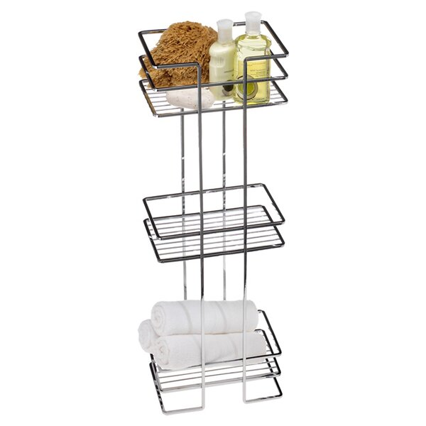 10 W x 30.5 H Bathroom Shelf by Creative Bath
