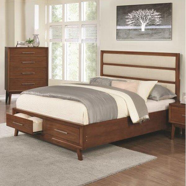 Marisol Upholstered Storage Platform Bed by Corrigan Studio