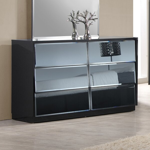 Venice 6 Drawer Double Dresser by Orren Ellis