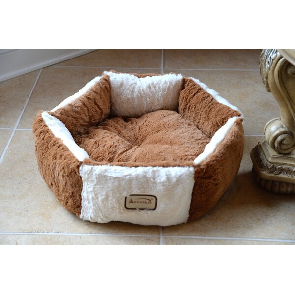 Cat Bed in Brown and Ivory by Armarkat