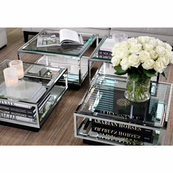 Eichholtz Glass Top Coffee Tables