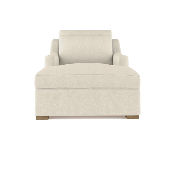 Letterly Linen Chaise Lounge By 17 Stories