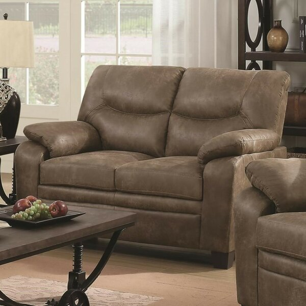 Mulder Transitional Loveseat by Winston Porter