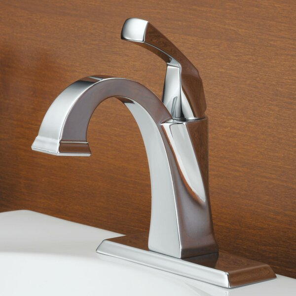 Dryden Single hole Bathroom Faucet with Drain Assembly and Diamond Seal Technology by Delta