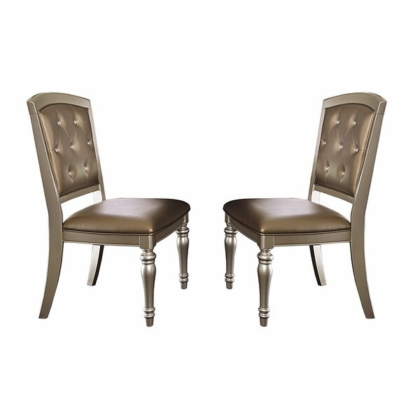 Cristian Upholstered Dining Chairs (Set of 2) by Rosdorf Park