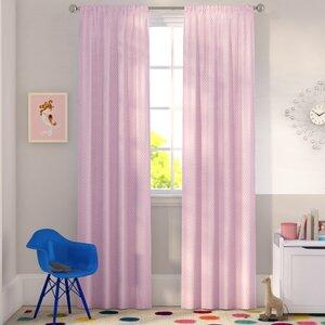 Tamara Solid Max Blackout Thermal Rod Pocket Curtain Panels (Set of 2)