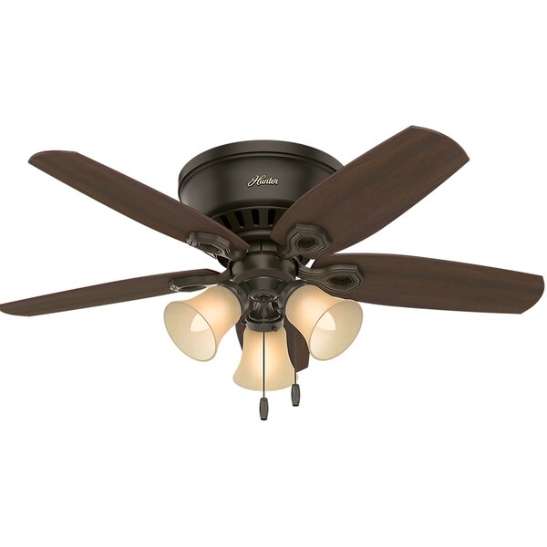 42 Builder Low Profile 5-Blade Ceiling Fan by Hunter Fan