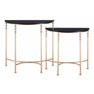 round console table. Tybrook 2 Piece Half Round Console Table Set D