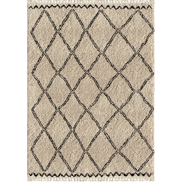 Darrah Trellis Ivory Area Rug by Foundry Select