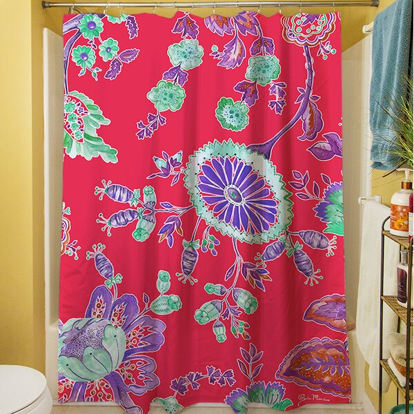 Anima Outline Shower Curtain by Manual Woodworkers & Weavers
