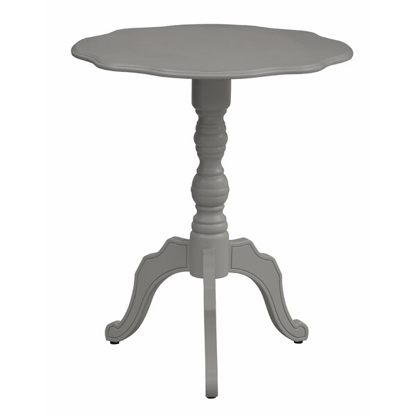 Kirkley Scalloped End Table by Ophelia & Co.