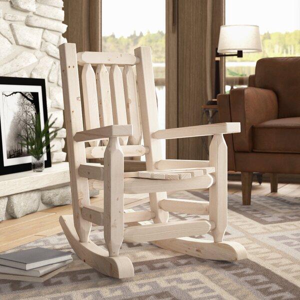Abella Rocking Chair By Loon Peak