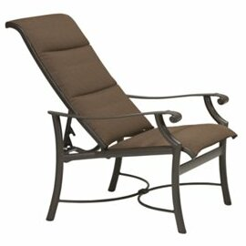 Montreux Padded Sling Recliner Patio Chair by Tropitone