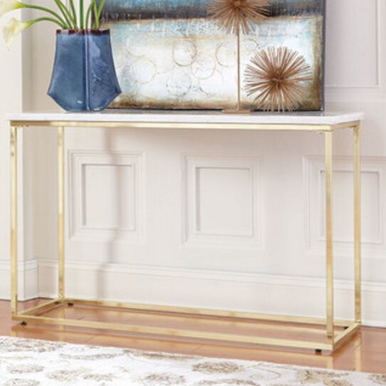 Mercer41 White Console Tables