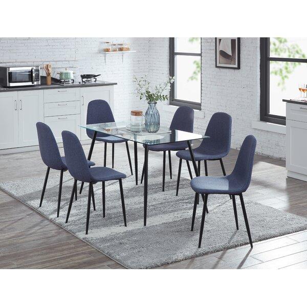 Arsalan 7 Piece Dining Set by Ebern Designs
