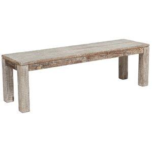 Arakaki Wood Bench by Mistana