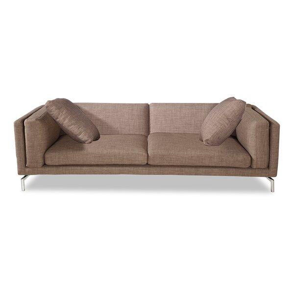 Tia Modern Loft Sofa by Orren Ellis