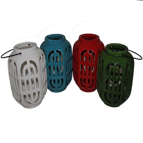 Ceramic Lantern (Set of 4) by Bloomsbury Market