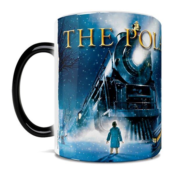 The Polar Express Sleigh Ride with Santa Heat-Sensitive Coffee Mug by Morphing Mugs