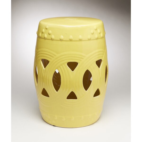 Finnerty Interlocking Garden Stool by Bloomsbury Market