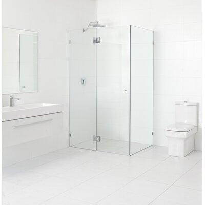 Glass warehouse 36 x 36 x 78 hinged frameless glass return shower 36 x 36 x 78 hinged frameless glass return shower door glass planetlyrics Gallery