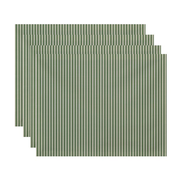Laymon Ticking Stripe Placemat (Set of 4) by Gracie Oaks