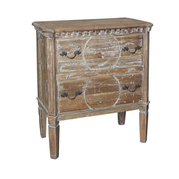 Cora 2 Drawer Bachelors Chest by Ophelia & Co.