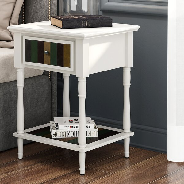 Dunn End Table by Charlton Home