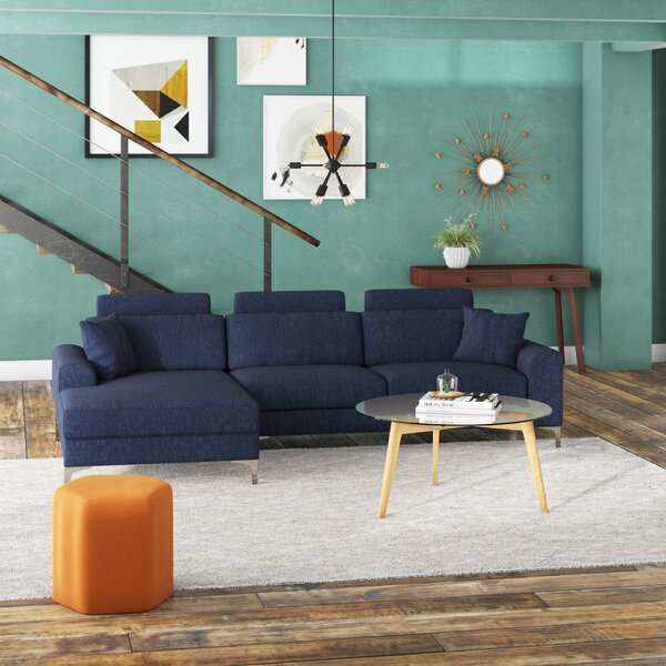 Seaman Modern Large Sectional by Wrought Studio