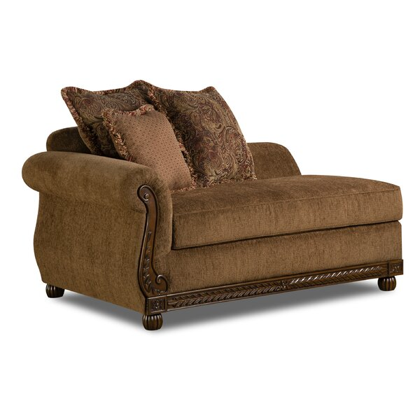 Bridgette Chaise Lounge by Simmons Upholstery by Fleur De Lis Living