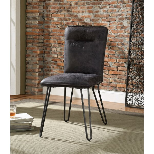 Sethi Pack Upholstered Dining Chair (Set of 2) by Union Rustic