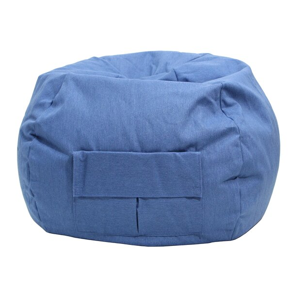Denim Bean Bag Chair by Gold Medal Bean Bags