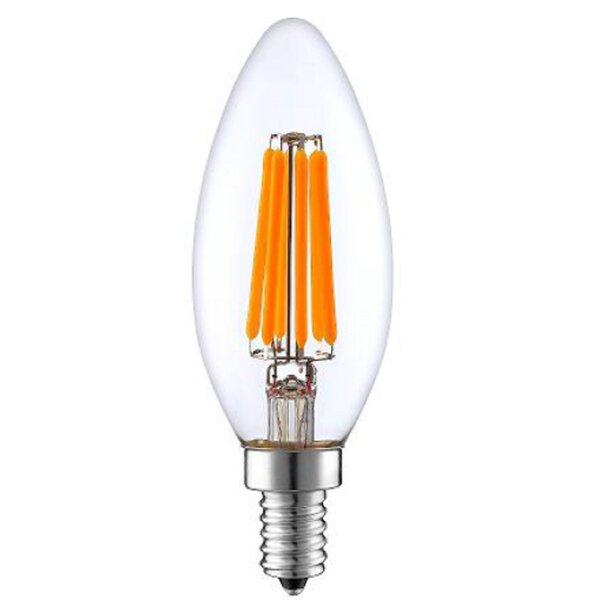 4W E12/Candelabra Dimmable LED Edison Light Bulb by String Light Company