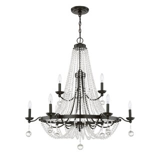 Best Moreell 9-Light Empire Chandelier By Astoria Grand