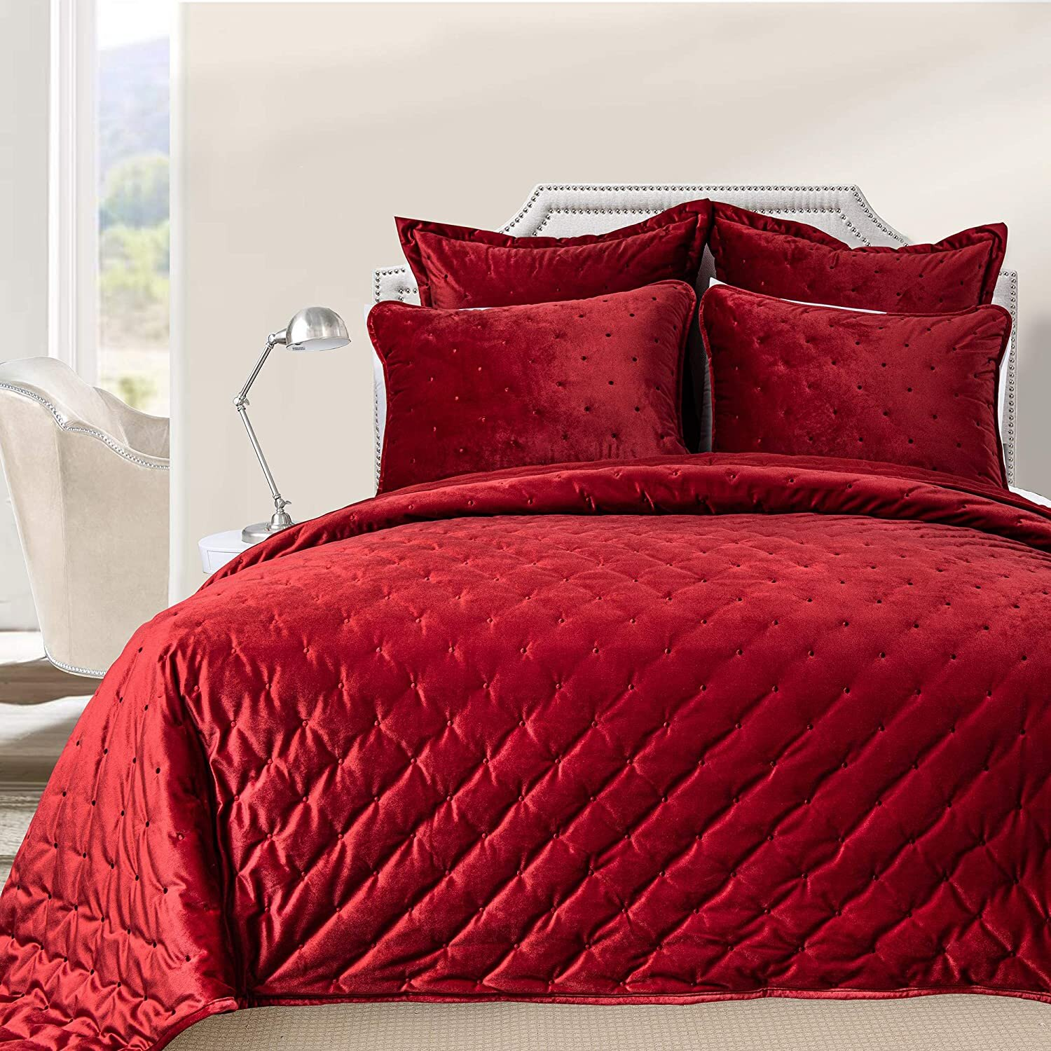 Velvet Quilts Coverlets Sets You Ll Love In 2021 Wayfair