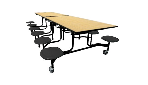 Rectangular Cafeteria Table by Palmer Hamilton