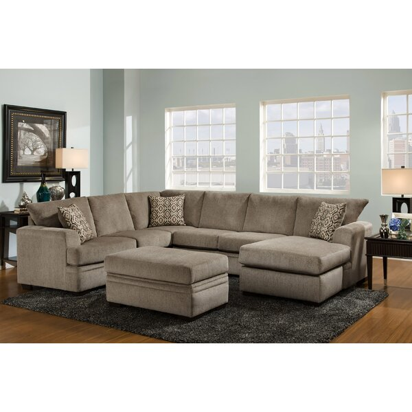 Bourgeois Reversible Sectional by Red Barrel Studio