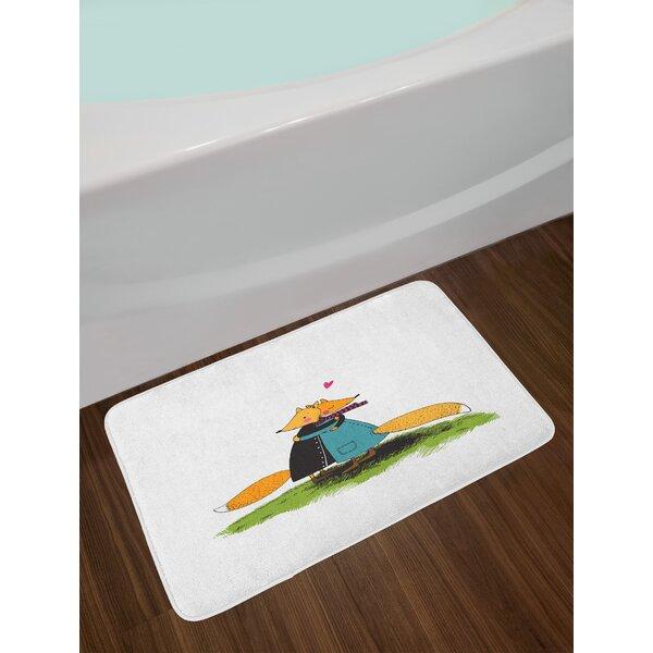 Romantic Fox Bath Rug by East Urban Home