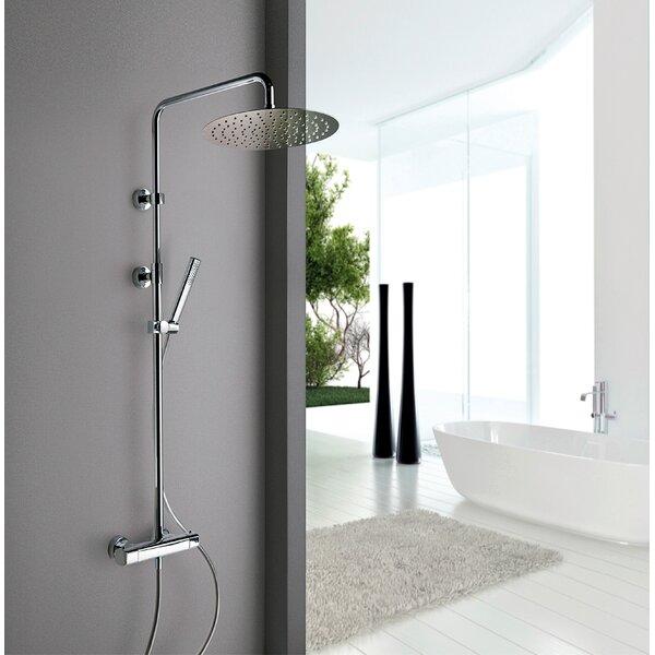 Novello Thermostatic Complete Shower System by LaToscana LaToscana